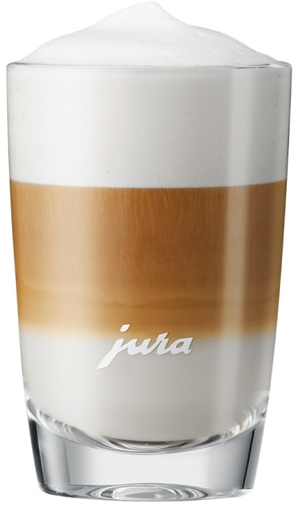 JURA latte macchiato glas 105mm (2 stuks) - in Koffieglazen