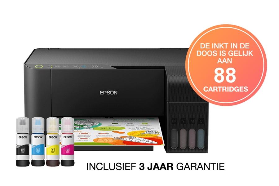 Epson EcoTank ET-2712 Afdrukken zonder inktpatronen