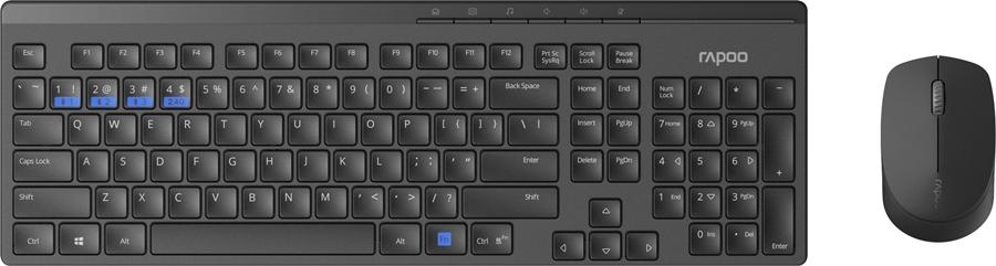 Rapoo 8100M Draadloze combo - in PC-Accessoires