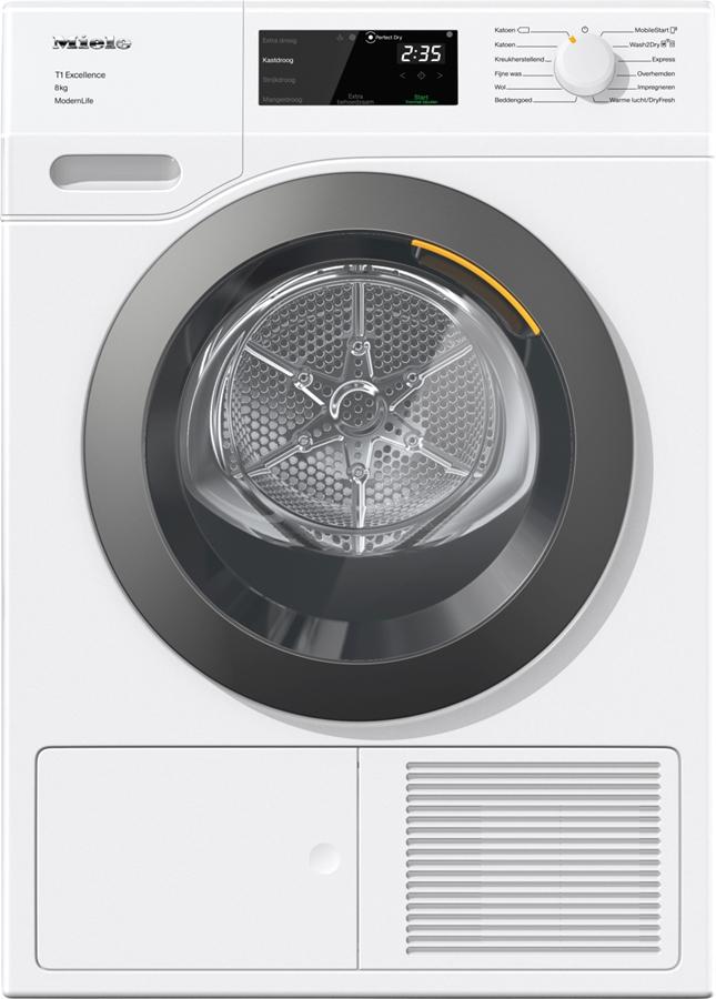 Miele TED 375 WP T1 ChromeEdition warmtepompdroger