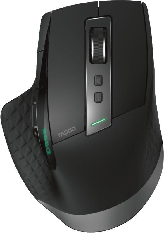 Rapoo MT750S BL Multi-Mode draadloze laser muis - in PC-Accessoires