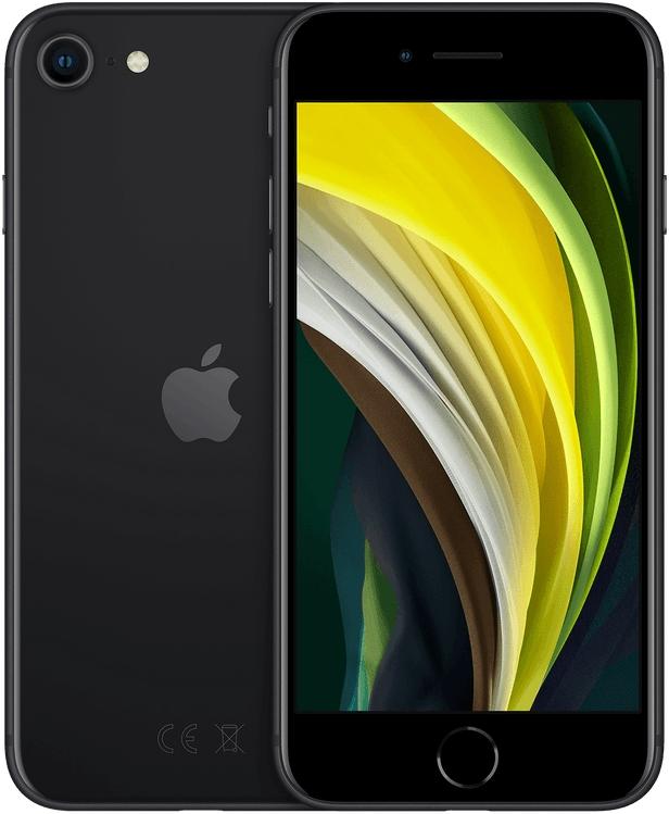 Apple iPhone SE (2020) 128GB zwart - in Smartphones