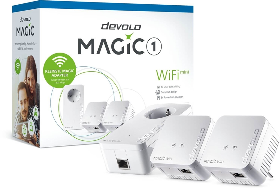 Devolo Magic 1 WiFi mini Multiroom Kit (3 stations) - 8575