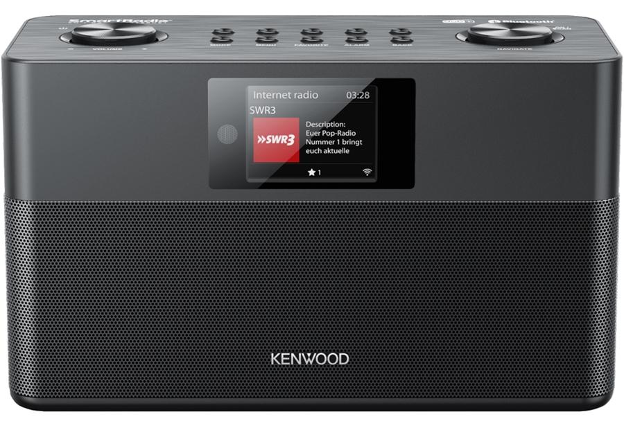 Kenwood CR-ST100S-B DAB+ internetradio - in Radio's