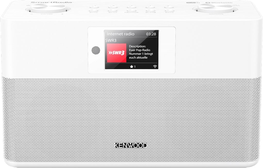 Kenwood CR-ST100S-W Radio met DAB+ - in Radio's