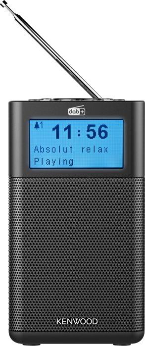 Kenwood CR-M10DAB-B Draagbare DAB+ radio zwart - in Radio's