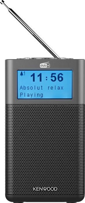 Kenwood CR-M10DAB-H Draagbare radio met DAB+ antraciet - in Radio's
