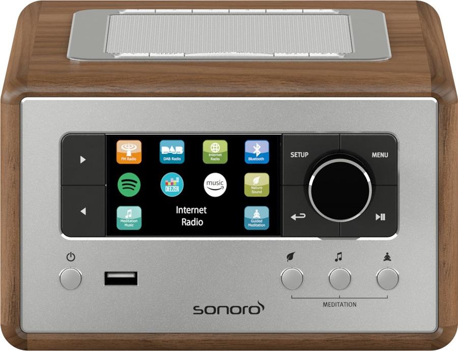 Sonoro Relax SO-810 V2 DAB+ internetradio - in Radio's