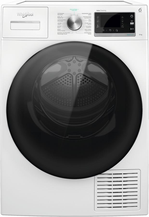 Whirlpool W6 D84WB BE warmtepompdroger