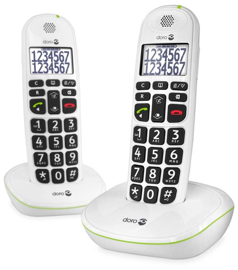 Doro PhoneEasy 110 Duo Huistelefoon - in Vaste telefoon