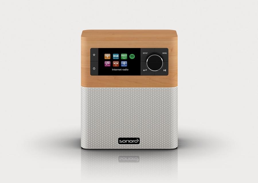 Sonoro Stream SO-410 DAB+ internetradio - in Radio's
