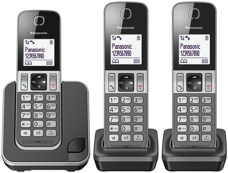 Panasonic KX-TGD313NLG Huistelefoon - in Vaste telefoon