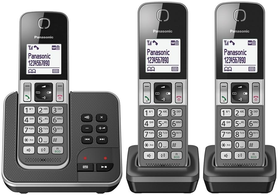 Panasonic KX-TGD323NLG Huistelefoon - in Vaste telefoon