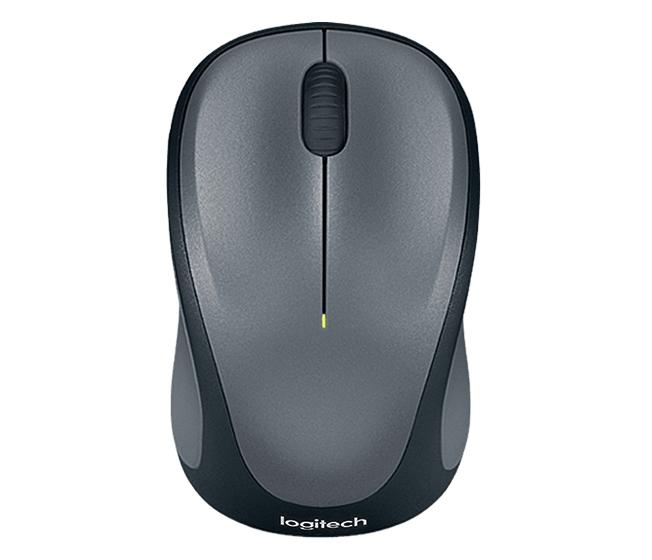 Logitech M235 Wireless Mouse Grijs - in PC-Accessoires