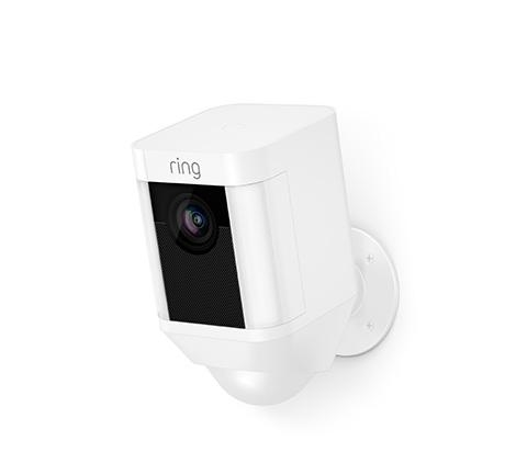 Ring Spotlight Cam Accu wit - in Camerabewaking