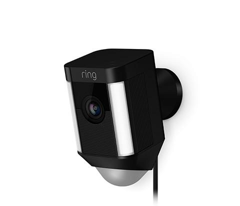 Ring Spotlight Cam bedraad zwart - in Camerabewaking