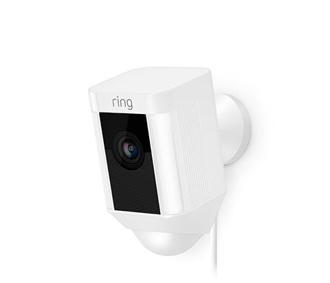 Ring Spotlight Cam bedraad wit - in Camerabewaking