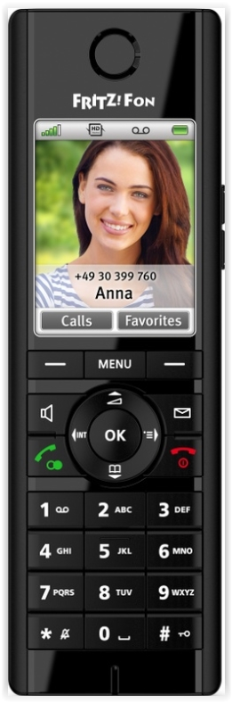 AVM FRITZ!Fon C5 Edition International - in Vaste telefoon