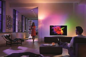 philips oled tv met  ambilight